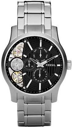ME1097 - Authorized Fossil watch dealer - MENS Fossil DRESS, Fossil watch, Fossil watches