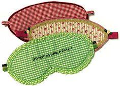 Schlafmaske mit Lavendelfüllung Maximaler Lichtschutzfaktor: Schlafbrillen selber nähen - BRIGITTE.de
