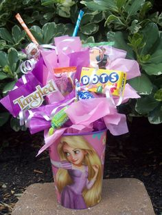 Tangled Kids Candy Party Favors Made to by . Eves party.
