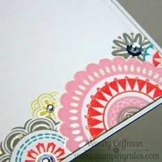 Stamping Rules!: A Happy Hello Feb SOTM Card CTMH