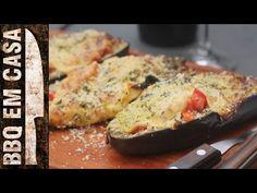 Receita de Chef Rui Coelho: Beringelas Recheadas com Queijo e Legumes - YouTube