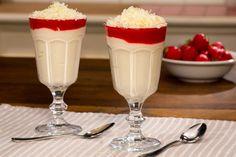 Spaghetti-Eis Dessert