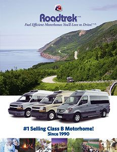Roadtrek: Brochures for #1 Selling Class B Motorhomes (Camper Vans, Class B RV) since 1990! www.Roadtrek.com