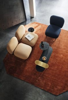 Isole Modular Seating by Luca Nichetto and Nendo for &tradition - Design Milk Luxury Furniture, Contemporary Furniture, Office Furniture, Cool Furniture, Furniture Design, Furniture Plans, Furniture Dolly, Geometric Furniture, Furniture Websites
