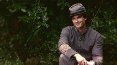 1x06 The Vampire Diaries bölüm onun iç savaş üniforması Damon Salvatore: Kayıp Kızlar