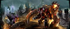 Transformers: Fall of Cybertron    New Game! - Go Grimlock!
