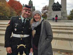 A wonderful, old Reserve soldier - Nathan Cirillo; moments before he was shot in cold blood while on Gaurd Duty at the War Memorial in Ottawa Wed A terrible day for Canadians. Canadian Soldiers, Canadian Army, Canadian History, In Cold Blood, Touching Stories, O Canada, Remembrance Day, In Kindergarten, Handsome