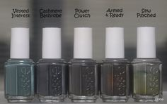 Spaz & Squee: Essie Fall 2013 Vested Interest and Cashmere Bathrobe