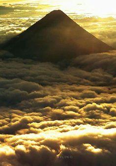 Volcán de Agua. Guatemala