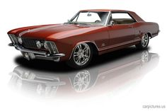 If I ever have too much money, I'm going to look for one of these --1964 Buick Riviera 425 V8 Custom Air Ride