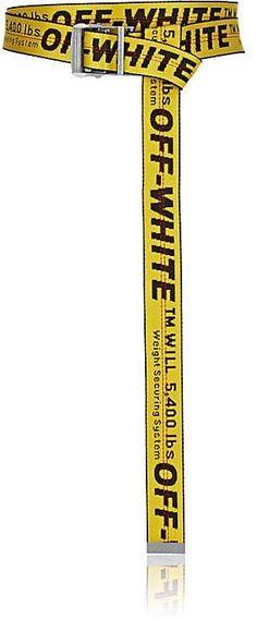 c5aba7e16910 Off-White c o Virgil Abloh Women s Logo Webbed Fabric Industrial Belt  Security Belt