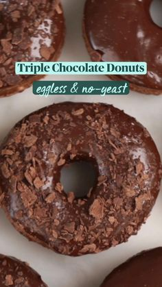 Eggless Recipes, Fun Baking Recipes, Snack Recipes, Cooking Recipes, Easy Snacks, Yummy Food, Frappe, Doughnut, Sweets