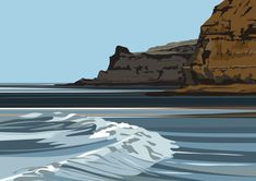 Staithes - Penny Nab, Summer