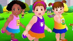 Cabeza, Hombros, Rodillas y Pies - Canción de Ejercicios Para Niños | Ch...