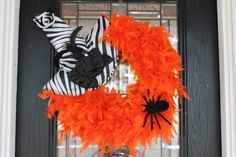 Feather Boa Wreath