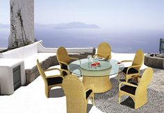 Innovative Wicker Furniture from Merane