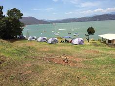 Te esperamos para acampar con esta vista. Saludos