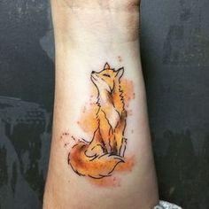 """Résultat de recherche d'images pour """"tatouage renard"""""""