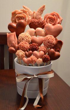 Soap bouquet. Love this!