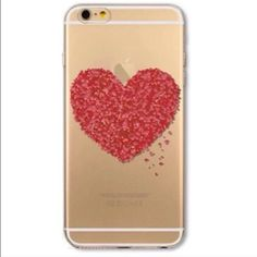 "🎉 SALE 2/$20 🎉 NEW 'Heart Collage'  🔹 Fits 5.5"" iPhone 6 PLUS & iPhone 6S PLUS 🔹 Soft silicone case 🔹 NO LIP 🔹 Covers back and sides 🔹 Comes with screen protector  ‼️ PRICE FIRM unless bundled Accessories Phone Cases"