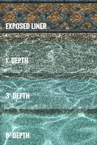 Savannah Tile Sandstone Inground Pool Liners