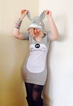 vestido Totoro Moda Geek
