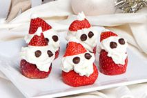 Strawberry Santas – Recipes – Slimming World