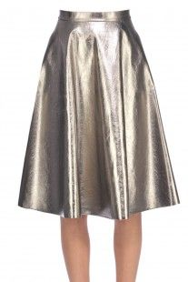 MSGM Outlet - Eco-leather skirt :: Glamest Online Fashion Outlet