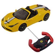 1:14 Ferrari 458 Speciale A Licensed Radio Remote Control RC Car w/Lights