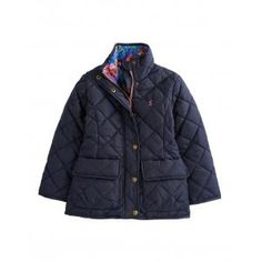Joules Mabel Girls Quilted Jacket - £42.46 www.countryhouseoutdoor.co.uk