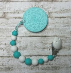 Check out this item in my Etsy shop https://www.etsy.com/listing/517555275/silicone-cookie-teether-silicone-chewing