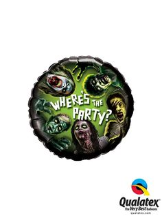 Where's the #party ask the #Zombie? Make sure he's invited with this Microfoil #balloon! #qualatex #Halloween