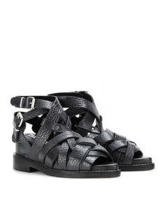 Lenna Leather Sandals www.sellektor.com