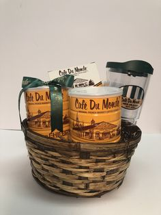 Beignets, Coffee Cans, Canning, Drinks, Food, Drinking, Beverages, Essen, Drink