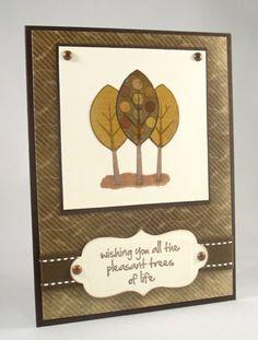 Pleasant Trees Card