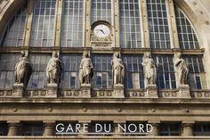 ღღ Exterior, Gare du Nord railway station.  Oliver Strewe Lonely Planet Photographer  © Copyright Lonely Planet Images 2011