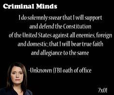 115 Best Criminal Minds Quotes images in 2013 | Criminal ...
