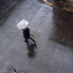 Yağmur ve satıcı  #istanbul