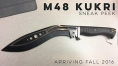 M48 Kukri Cool Knives, Knives And Swords, I Cool, Cool Stuff, United Cutlery, M48, Survival Weapons, Cold Steel, Blade