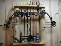 Bowhunting - Show me your man cave/trophy rooms! - I have 2 man caves here's 1 Quail Hunting, Deer Hunting Tips, Hunting Guns, Archery Hunting, Bow Hunting, Archery Range, Hunting Stuff, Arc Diy, Man Cave Shed