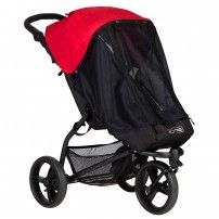 Mountain Buggy mini stroller with storm and bug cover