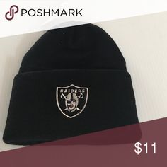 Spotted while shopping on Poshmark: Oakland Raiders beanie! #poshmark #fashion #shopping #style #Other