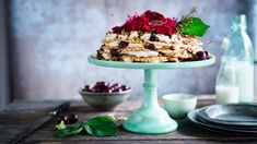 No-Bake Cherry Bourbon & Pizzelle Icebox Cake featuring our Fig & Ginger Jam from Gazpacho, Tostadas, Ugly Cakes, Mousse, Pizzelle Cookies, Ginger Jam, Naked Cake, Icebox Cake, Mad Hatter Tea