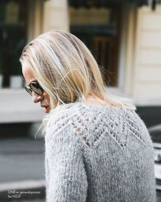 Billedresultat for Tirilgenseren Sweater Knitting Patterns, Lace Knitting, Knitting Designs, Norwegian Knitting, Online Yarn Store, Crochet Patron, How To Purl Knit, Yarn Shop, Boho Outfits