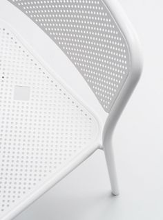 Details we like / Chair / White / steel / Hole Pattern / at takeovertime