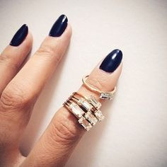 The 'Tiny Baguette Ring' by Big Bang is an all time fave, so classic.