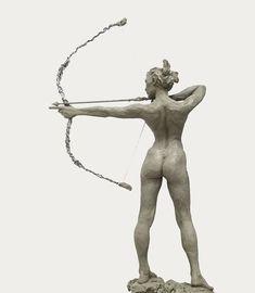 (notitle) - Sculpture`Surface`Line - Skulpturen Art Brut, Sculpture Clay, Erotic Art, Figure Drawing, Figurative Art, Oeuvre D'art, Female Art, Character Art, Fantasy Art