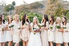 bridesmaids king protea bouquets