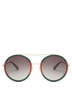 58c4aeed47c  gucci  sunglasses Round Frame Sunglasses