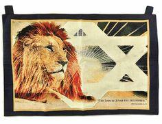 Lion of Judah Tapestry Banner